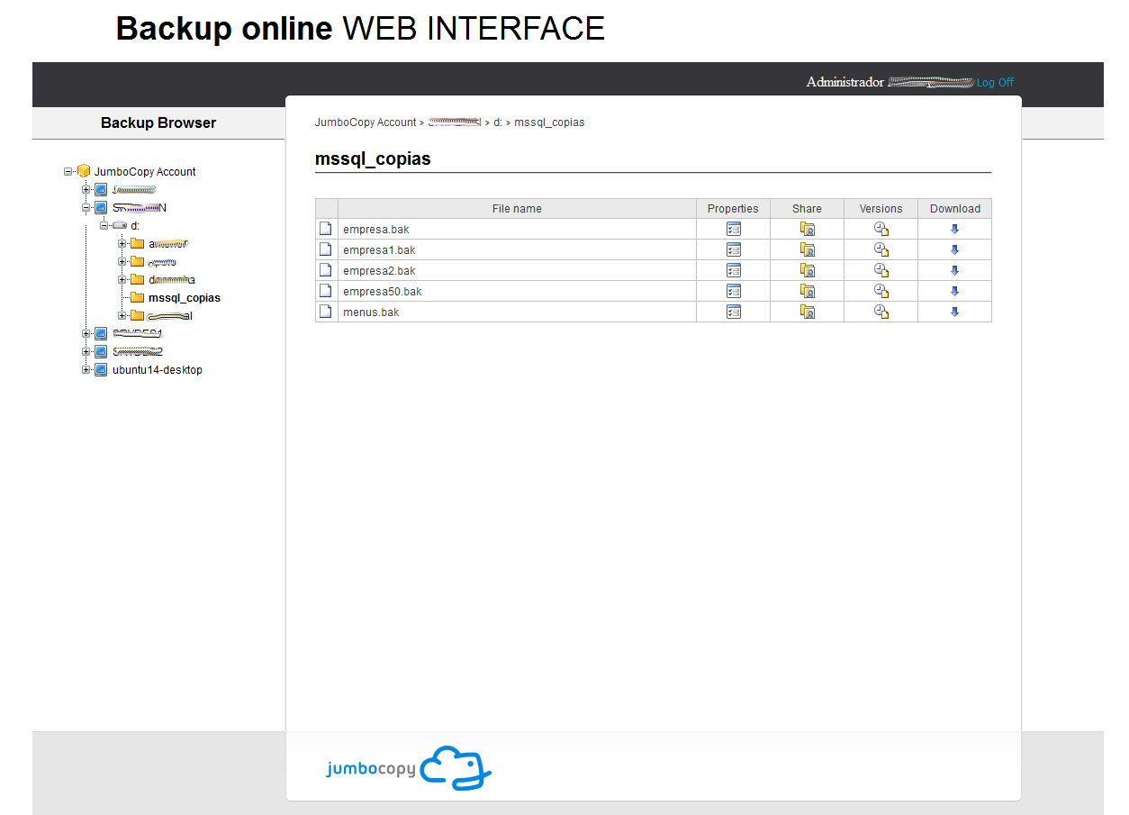 web-backuponline